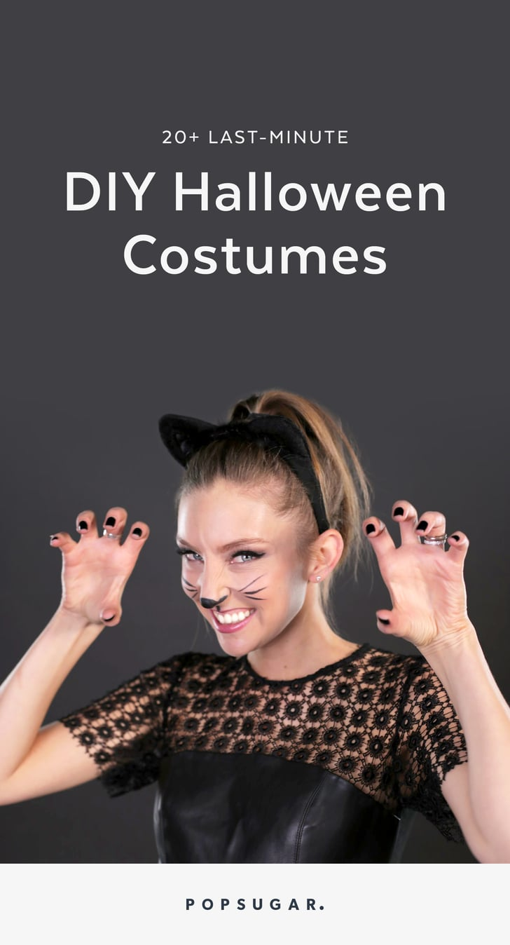Last Minute Halloween Costumes Popsugar Smart Living
