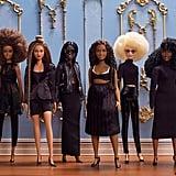 Shiona Turini x Barbie Black History Month Doll Wardrobe in Black