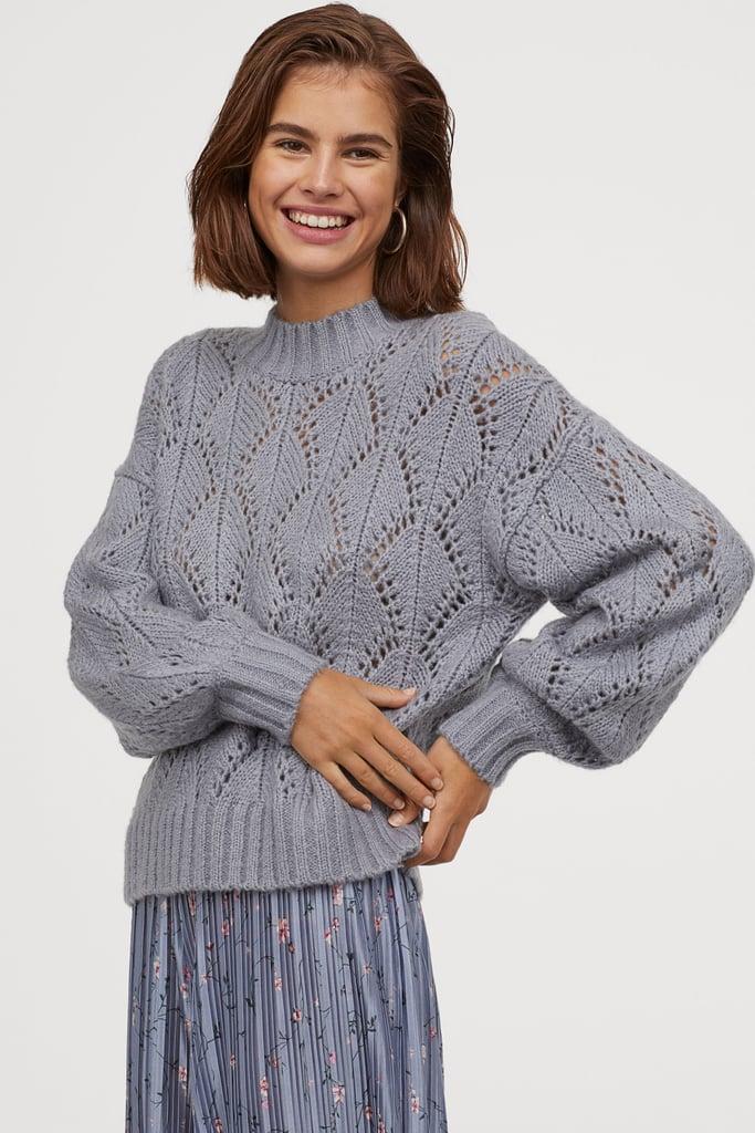 H&M Lace-Knit Sweater