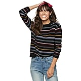 POPSUGAR Long-Sleeved Boxy Sweater