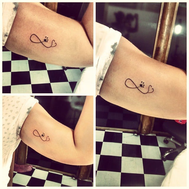 infinity sign tattoo ideas popsugar beauty. Black Bedroom Furniture Sets. Home Design Ideas