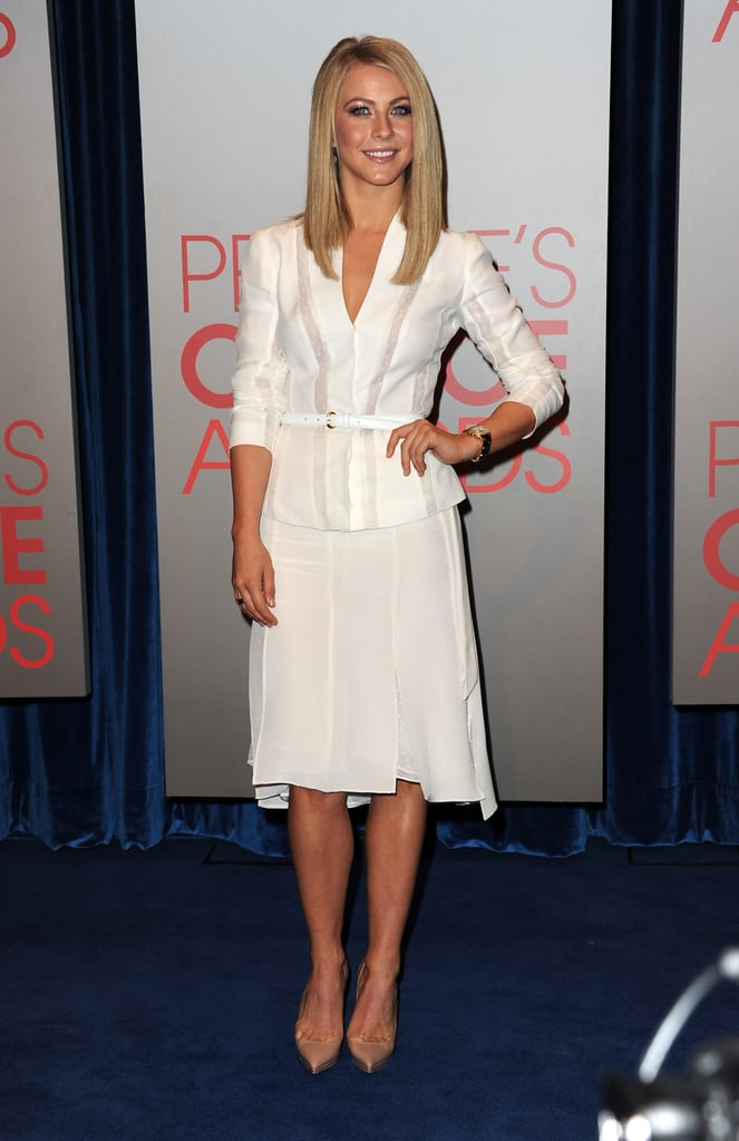 Julianne Hough at the People's Choice Awards nominations.