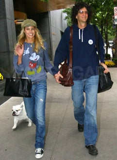 Photo of Howard Stern and Beth Ostrosky in NYC on the Way to Their Honeymoon