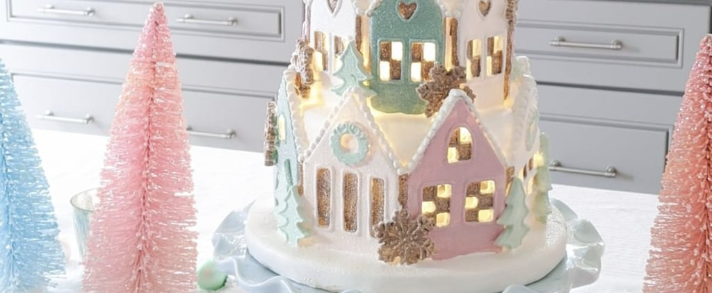 HomeGoods Is Selling a Gorgeous Pastel Gingerbread House