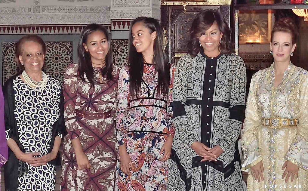 Michelle Obama and Her Daughters Just Redefined the Summer Dinner Dress