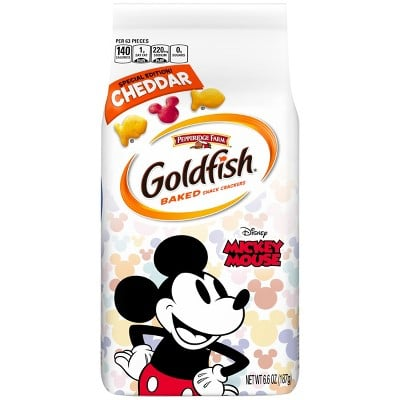 Pepperidge Farm Special Edition Mickey Mouse Goldfish