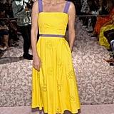 Nicky Hilton at Carolina Herrera Fall 2019