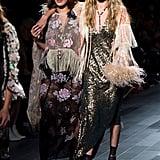 Bella Hadid and Gigi Hadid Closed the Anna Sui Spring '18 Show