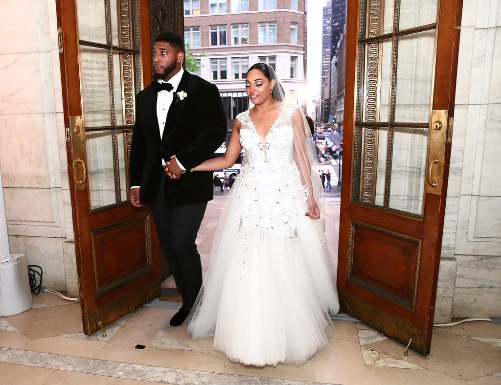 Devon Still and Asha Joyce's Wedding Style
