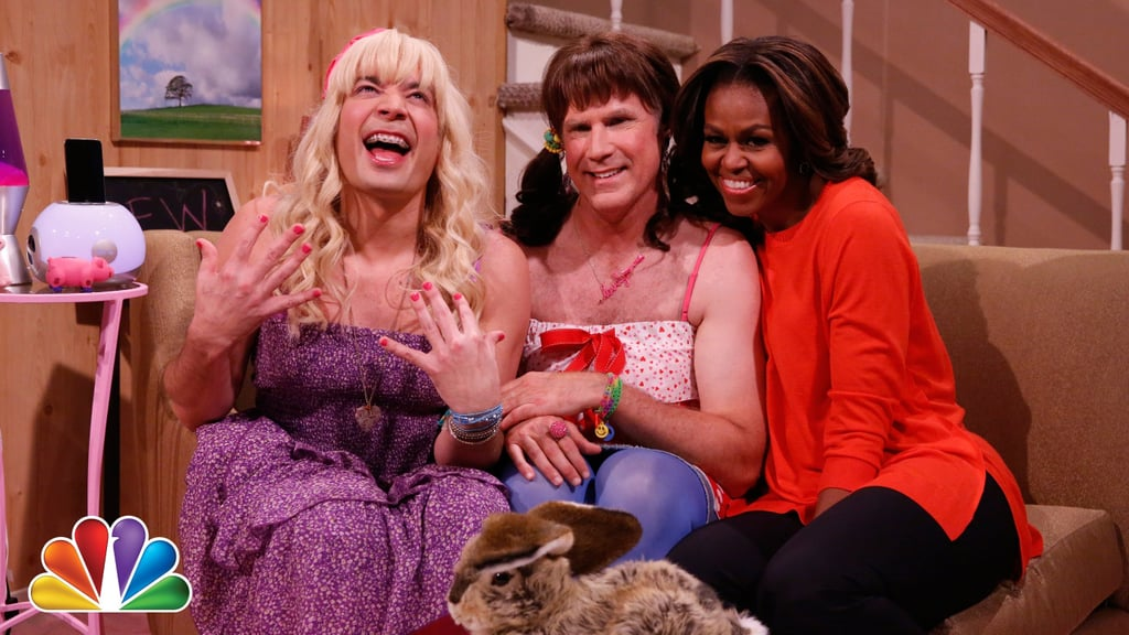 """""""Ew!"""" With First Lady Michelle Obama and Will Ferrell"""