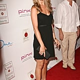 A flirty LBD, satin sandals, and a black box clutch rounded out Jennifer's LA style in 2007.