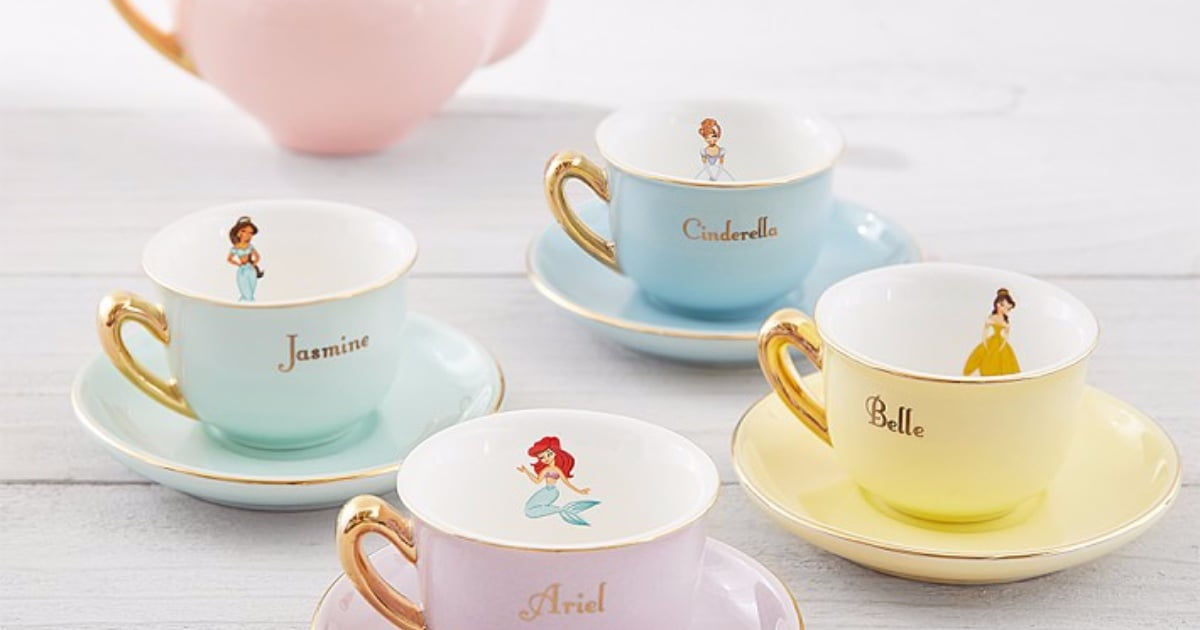 Disney Princess Tea Set From Pottery Barn Popsugar Family