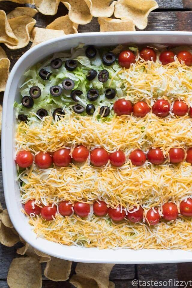 Chips and Taco Dip