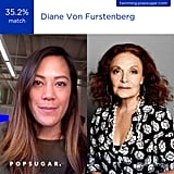 DVF herself . . .