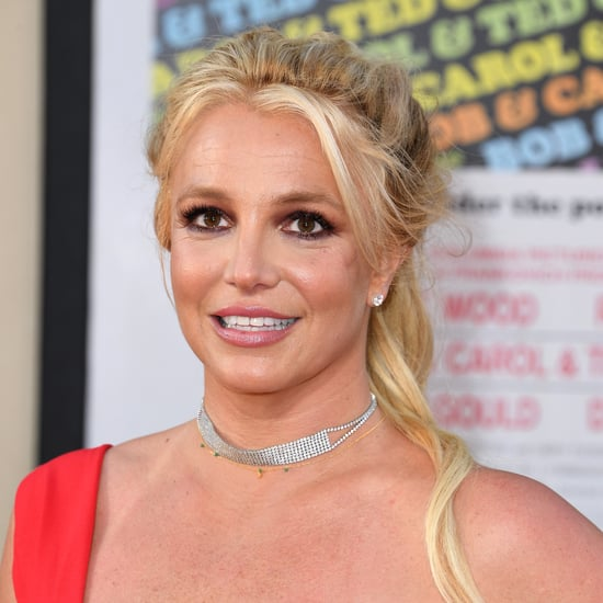 Britney Spears Cut Her Bangs at Home