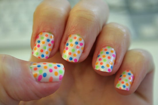 Polka dot nail art popsugar beauty prinsesfo Images