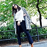 Style Your Sweater With: Jeans, Boots, and a Coat