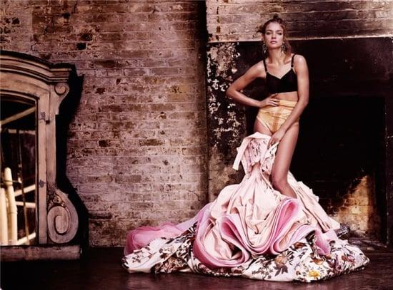 Natalia Vodianova does Vogue UK may 09