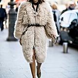 Christine Centenera at Paris Fashion Week