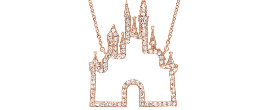 Disney Just Released a Rose Gold Fantasyland Castle Necklace — We're Obsessed!