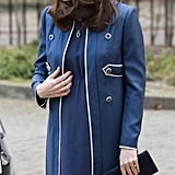Kate Middleton's Blue Jenny Packham Coat