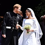 7: Ways Harry and Meghan honored Princess Diana.   7: Charities Harry and Meghan asked people to support in lieu of wedding gifts.   10: Kids in Meghan and Harry's wedding party.   10: Diamonds featured in the center brooch of Meghan's tiara.   20: Members of The Kingdom Choir that sang during the ceremony.