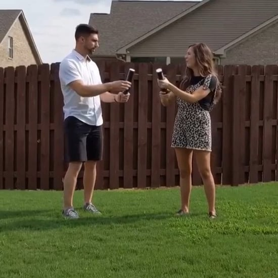Powder Cannon Gender Reveal Fail Video
