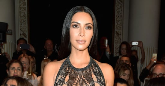 This Might Be Kim Kardashian's Sheerest Dress Yet