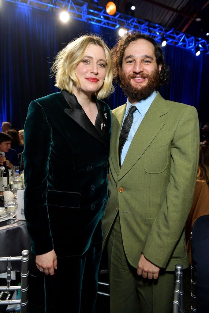 Greta Gerwig and Josh Safdie at the 2020 Critics' Choice Awards
