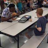The Moving Story Behind This Lunchroom Photo Will Bring You to Tears