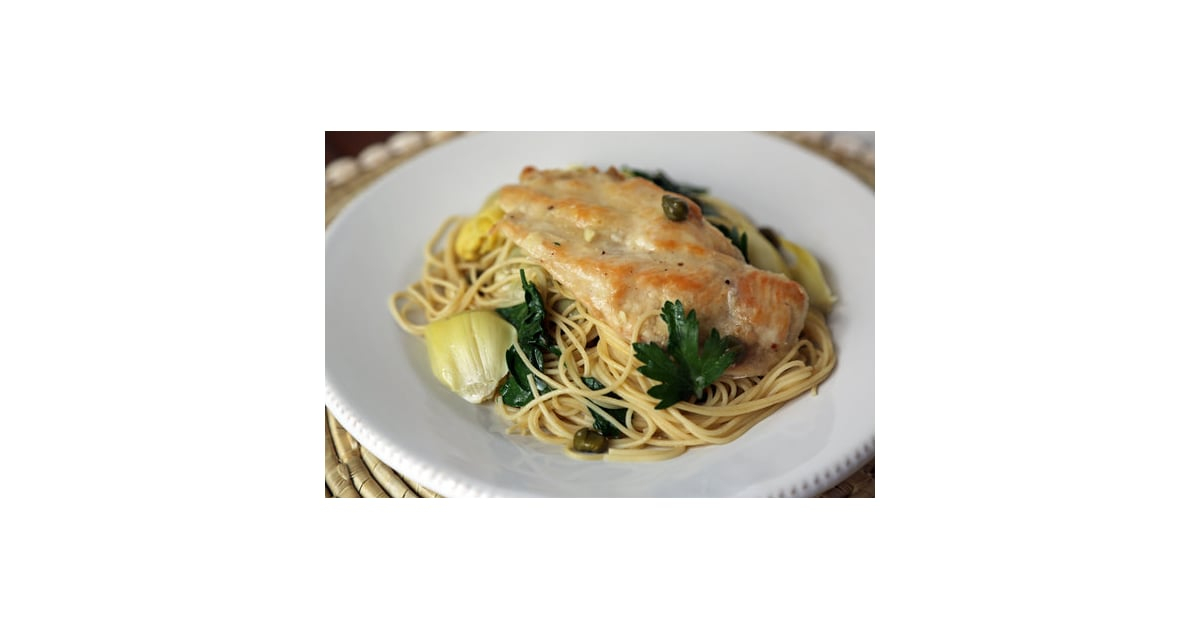 Chicken With Artichokes and Angel Hair | Healthy Spring ...