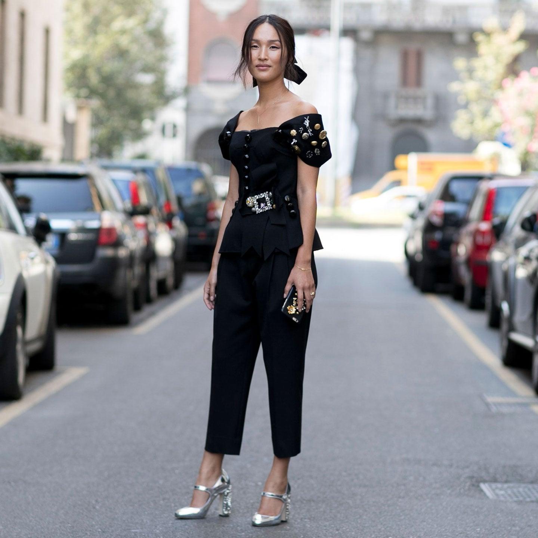 5aa482ba500e Milan Fashion Week Street Style Spring 2017