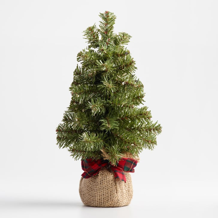 Sparse Christmas Tree Artificial.Small Christmas Trees Perfect For Apartments Popsugar Home