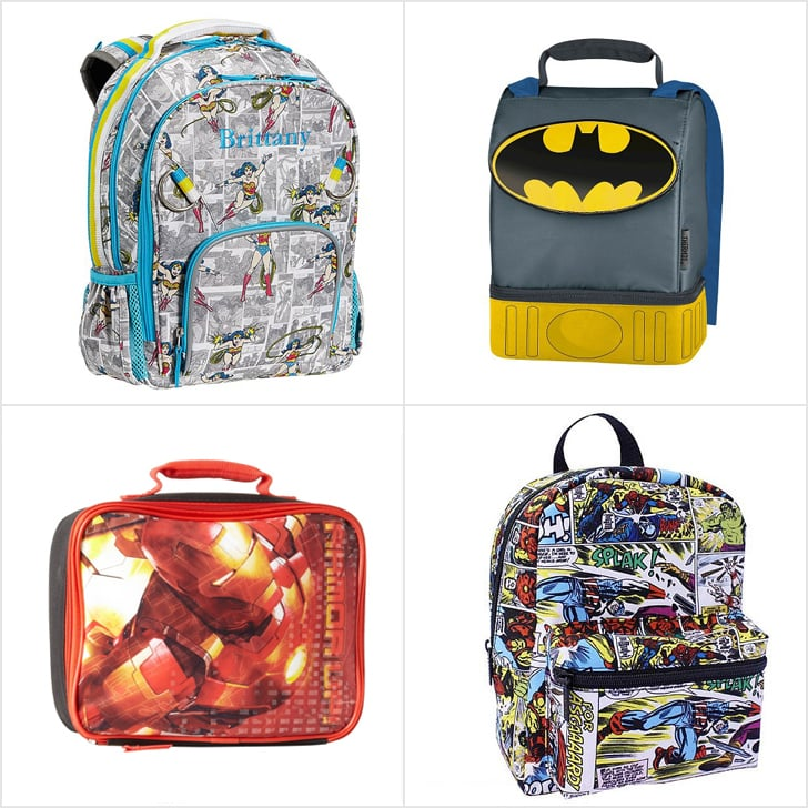 05b3790afcc9 Superhero Backpacks and Lunch Boxes