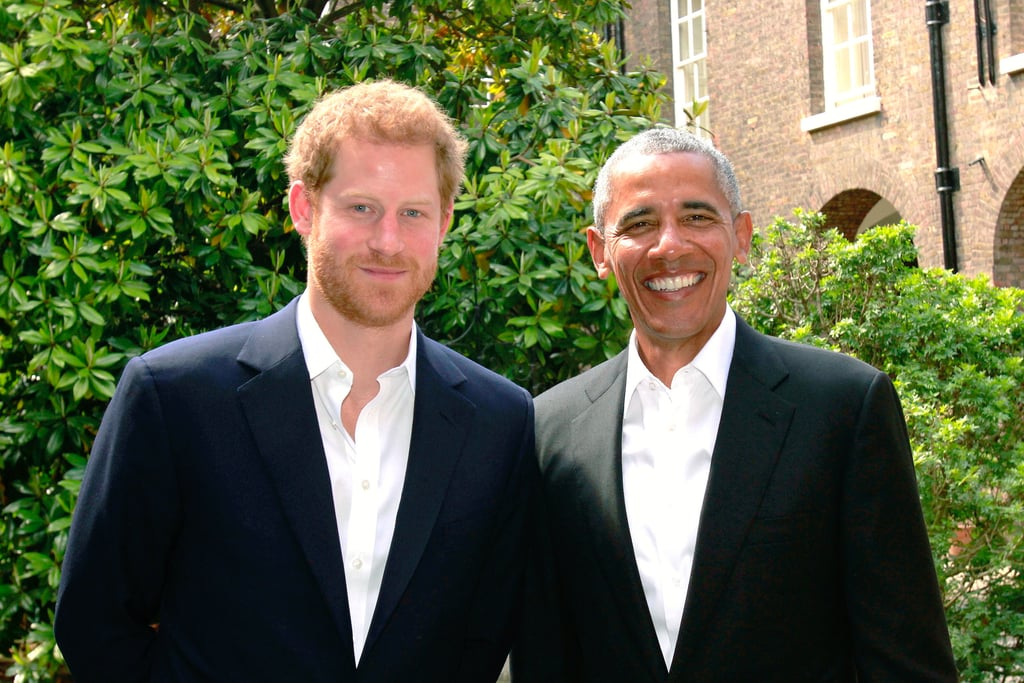 Het Met With Former President Barack Obama