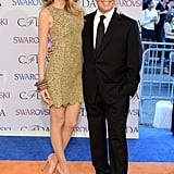 Blake Lively posed with Michael Kors.