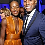 Lupita seemed really excited to pose for a photo with Tyrese Gibson at the NAACP Image Awards.