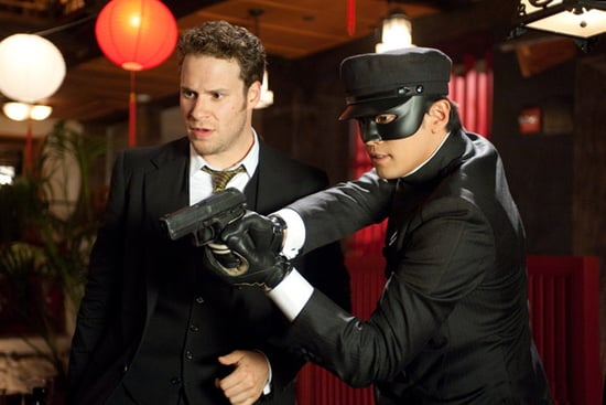 First Photos of Seth Rogen in The Green Hornet