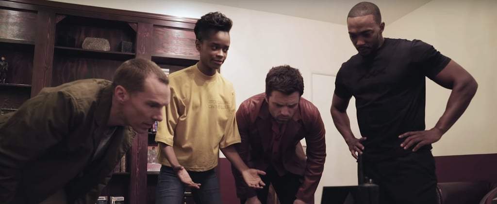 Avengers: Endgame Cast Escape Room Video May 2019