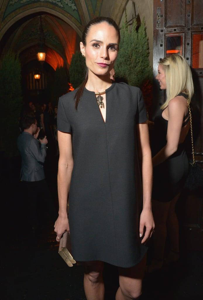 Jordana Brewster Black Dress Young Hollywood Party 2016 Popsugar