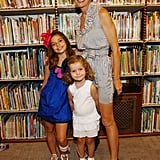 Cynthia Rowley with daughters Kit (left) and Gigi.