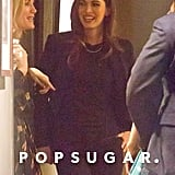 Megan Fox was all smiles before seeing her film.