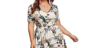 Wow! These Curve Dresses Are Perfect For Summer — and All Available on Amazon