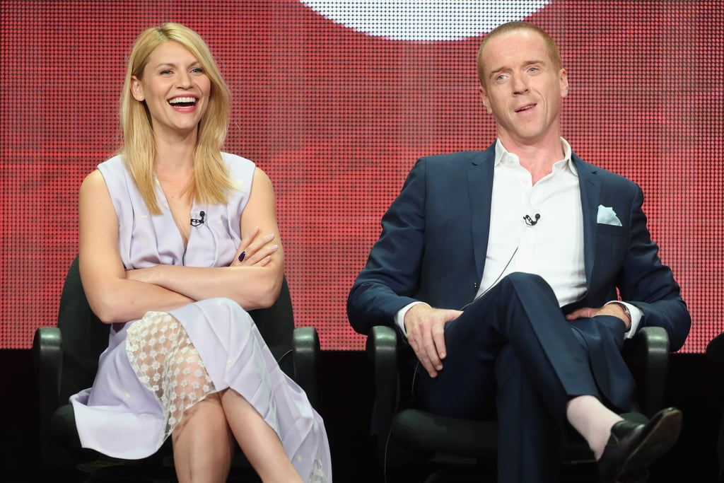 "Damian Lewis ""These guys have been trying to kill me since the end of episode one."" — On his character's longevity, at the Homeland panel"
