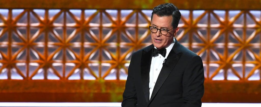 Stephen Colbert Hilariously Mocks Trump For Never Winning an Emmy