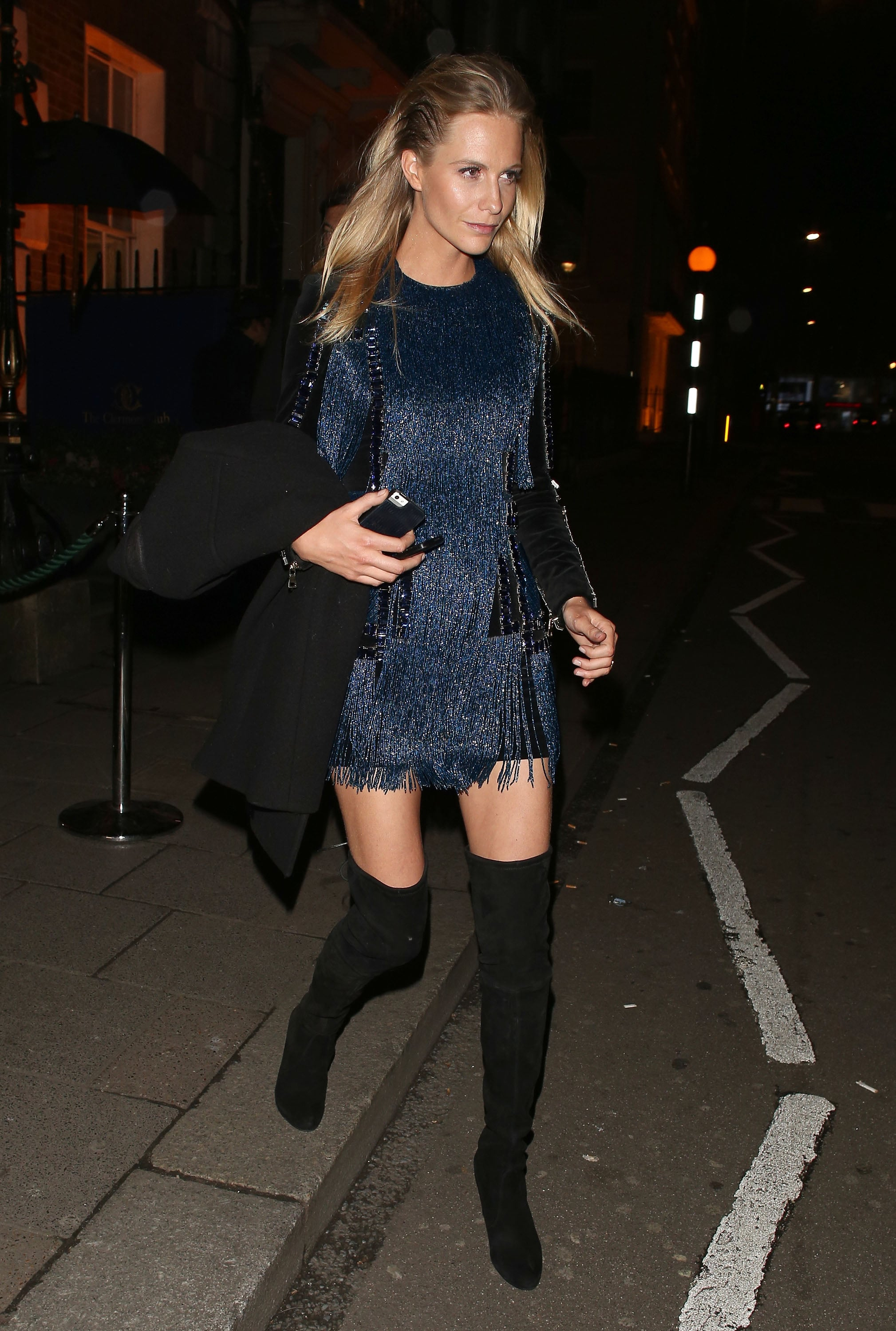 Poppy Delevingne Traded In Stilettos For Her Thigh High