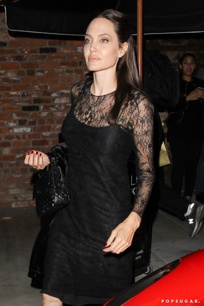 Of Course Angelina Jolie Would Wear This '90s Staple For Mother's Day