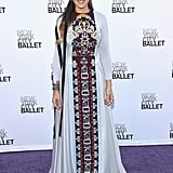 Sarah Jessica Parker dialled up the glam at the New York City Ballet Gala on Tuesday.