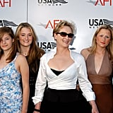 The entire family was on hand to support Meryl when she received the AFI Lifetime Achievement Award in 2004.