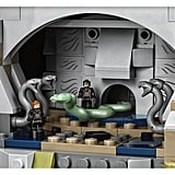 The Chamber of Secrets (has apparently been permanently opened in this set).
